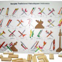 Puzzle Senjata Adat 34 Provinsi