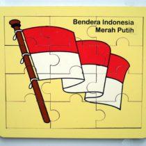 Puzzle Bendera Merah Putih