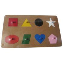 Puzzle Bentuk Geometri