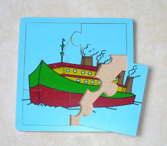Puzzle Kendaraan 20 x 20