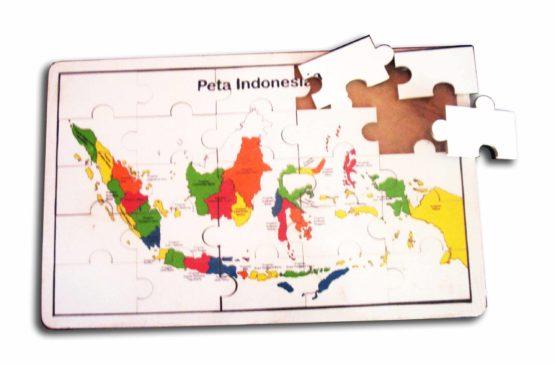 Puzzle Peta Indonesia