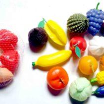 Miniatur Buah, Sayur Dan Telur