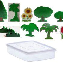 Miniatur Tanaman Dalam Box