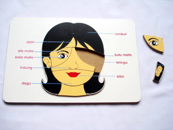 Puzzle Wajah Perempuan