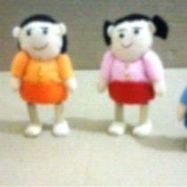 Boneka Doll House Keluarga Isi 4