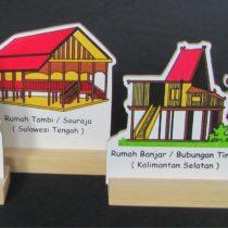 Pola Rumah Adat 6 Kepulauan
