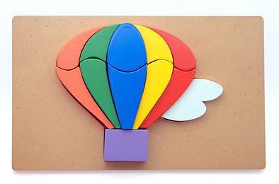 Puzzle 3D Balon Udara