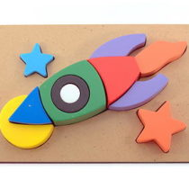 Puzzle 3D Roket