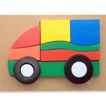 Puzzle 3D Mobil
